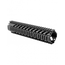 "10"" FREE FLOAT QUAD RAIL HANDGUARD: *MT061"