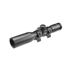 TACTICAL SERIES 4X32 COMPACT SCOPE W/ RANGEFINDING RETICLE AND SUNSHADE: *JTR432B-S