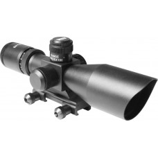 3-9X40 DUAL ILL. SCOPE W/CUT SUNSHADE & BDC