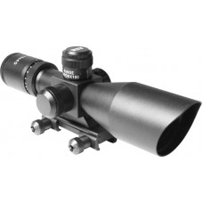 2.5-10X40 DUAL ILL. SCOPE W/CUT SUNSHADE & BDC