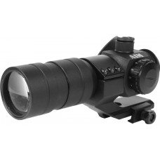 1.5X30 RED DOT SIGHT W/DOUBLER & FLIP-UP LENS
